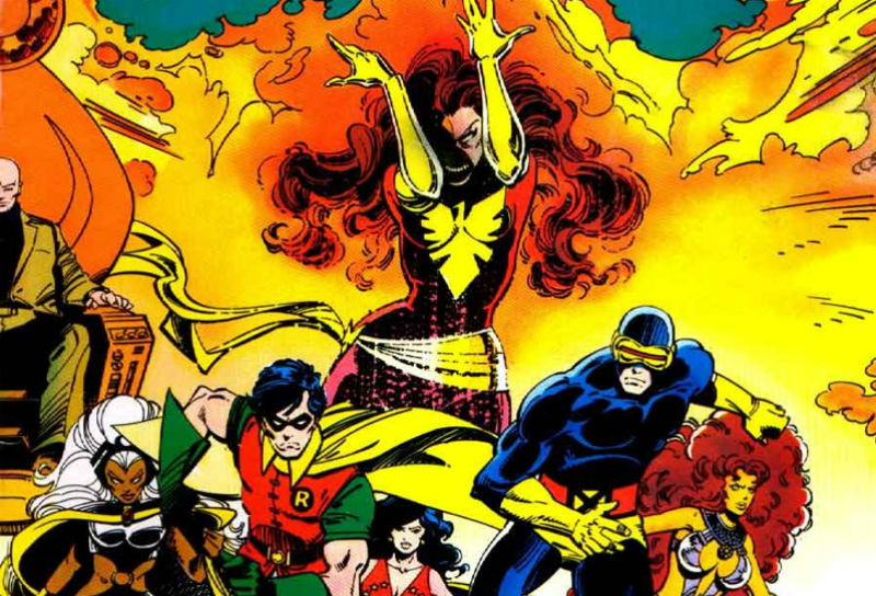 X-Men meet the Teen Titans