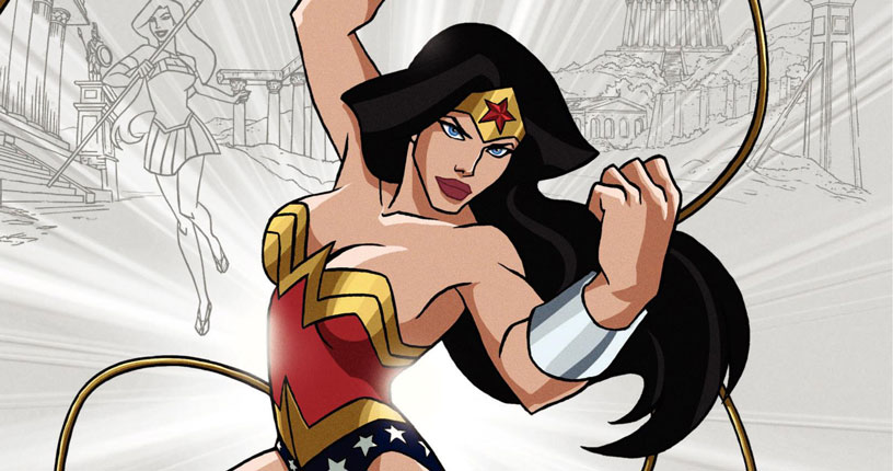 Wonder Woman Animated Movie Cover