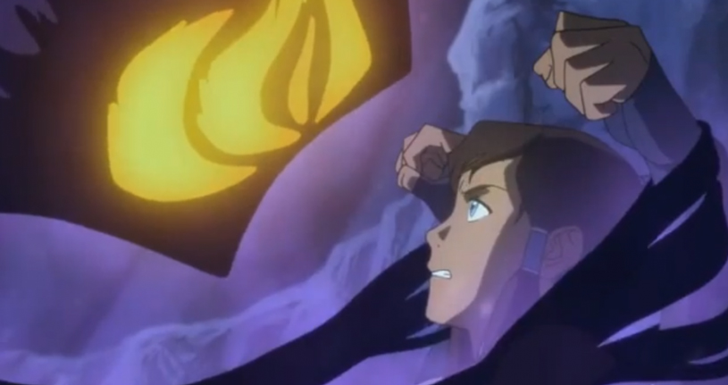 Still from Season 2 of The Legend of Korra