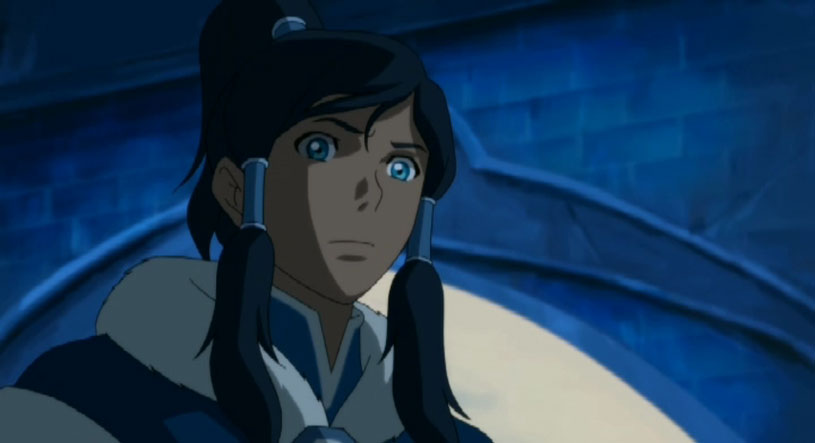 Korra from The Legend of Korra Civil Wars Part 1