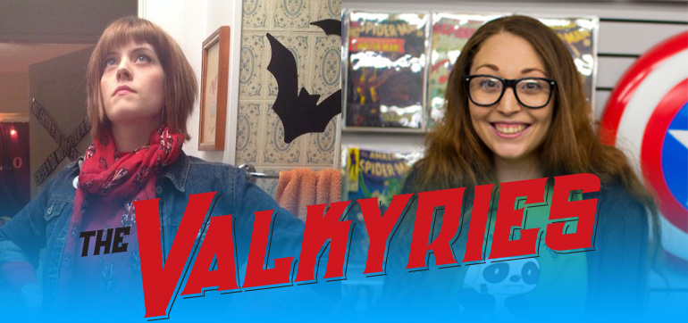 Kate Leth and Danni Danger are Valkyries