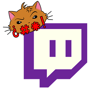Swear Cat Twitch