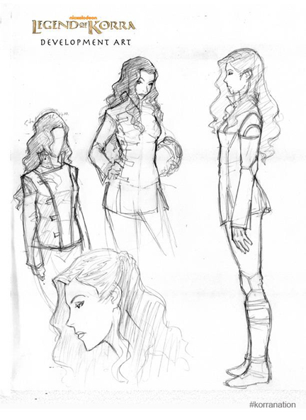 Asami Sato Legend of Korra
