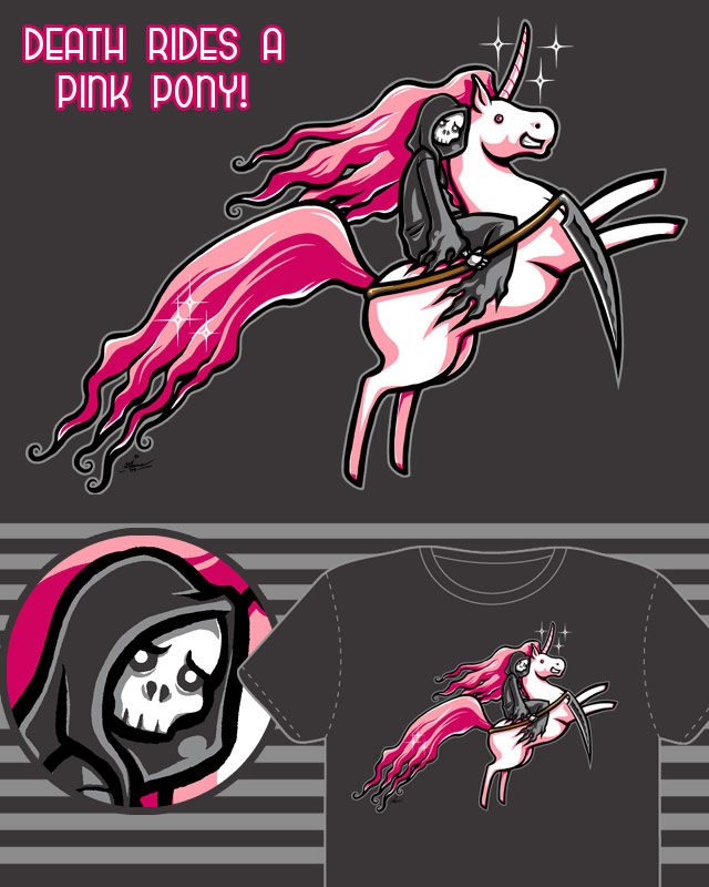 Death Rides a Pink Pony