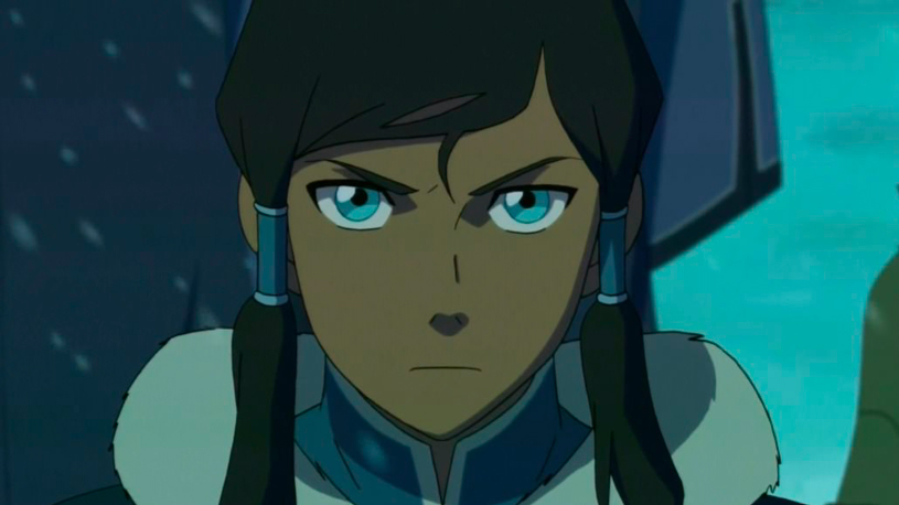 "Korra from ""The Legend of Korra"""