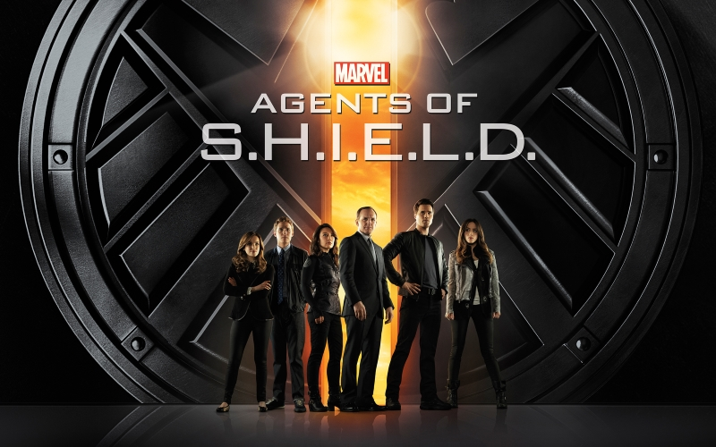 Agents of S.H.I.E.L.D. logo and team